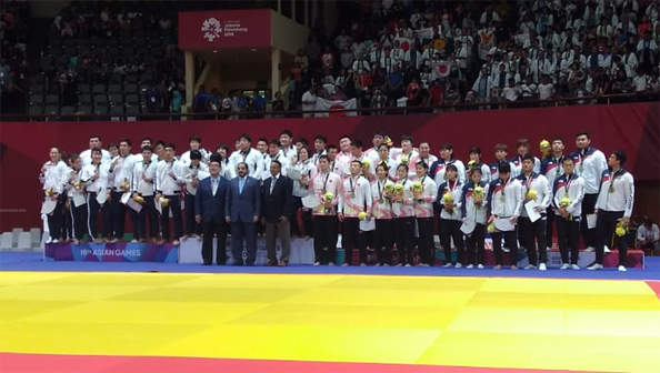 Winners of Team Events of 18th Asian Games 2018, Jakarta